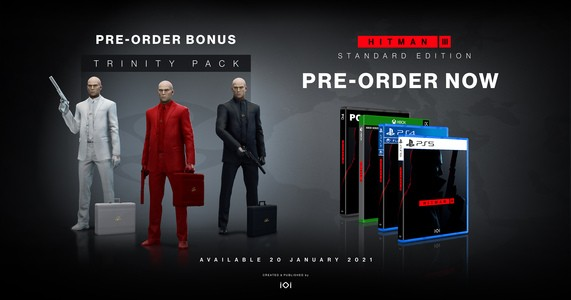Buy Hitman 3 - PS5   ShopTo.net