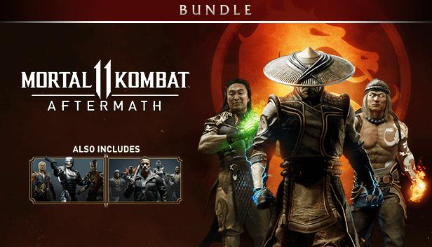 Buy Mortal Kombat 11 Aftermath Kombat Pack Bundle Pc Digital
