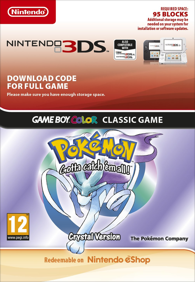 Pokémon Crystal Edition 3DS Download | ShopTo net