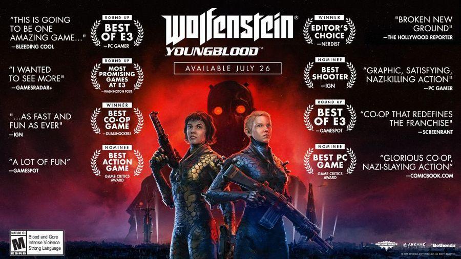 Wolfenstein Youngblood - Deluxe Edition   ShopTo net