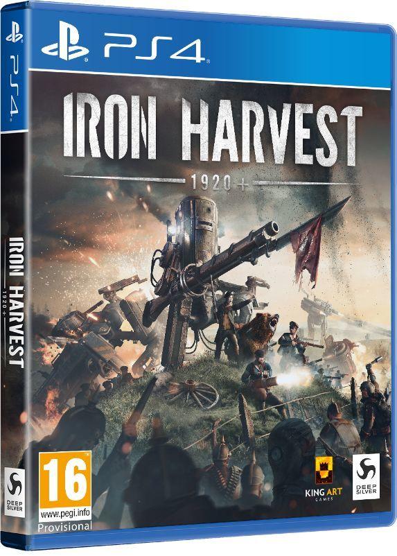 Buy Iron Harvest - PS4   ShopTo.net