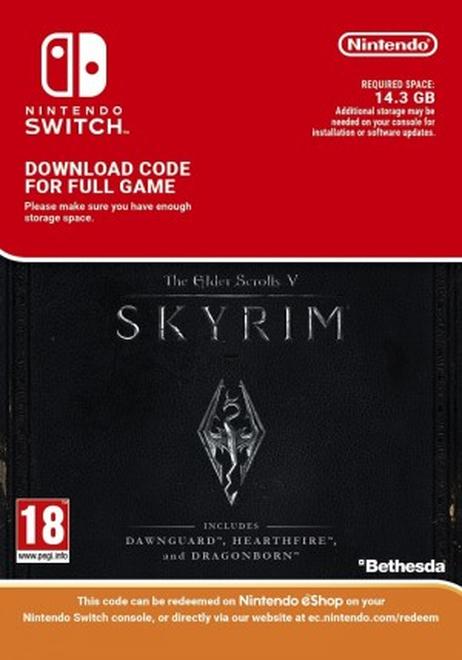 The Elder Scrolls V: Skyrim Switch Download | ShopTo net