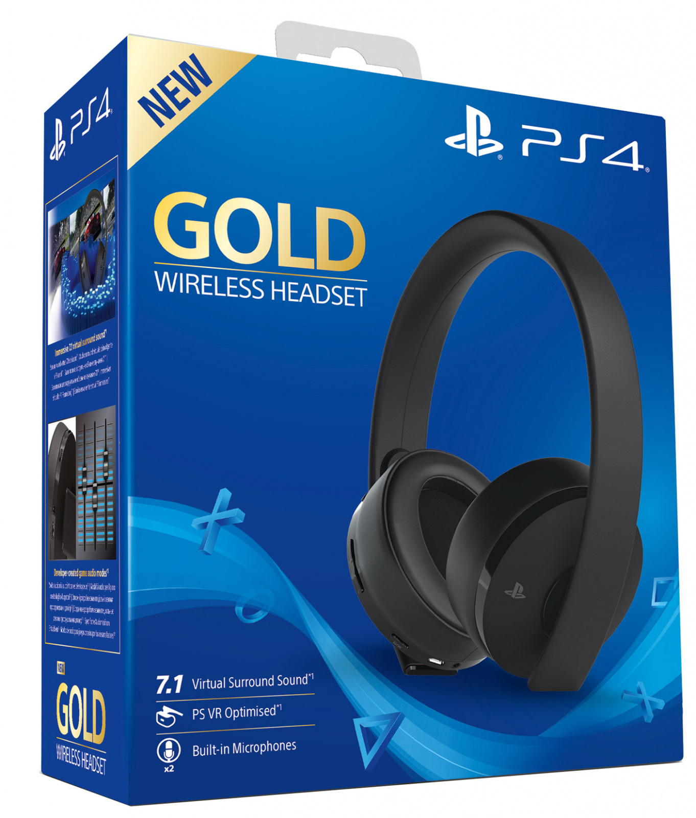 ps4 wireless headset can't hear party chat