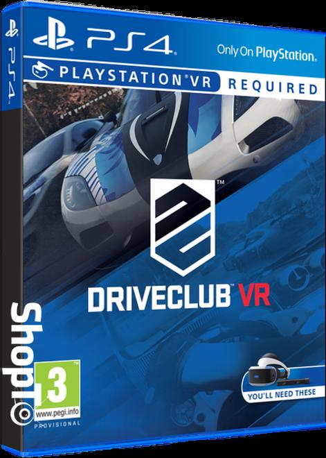 Driveclub VR | ShopTo.net on