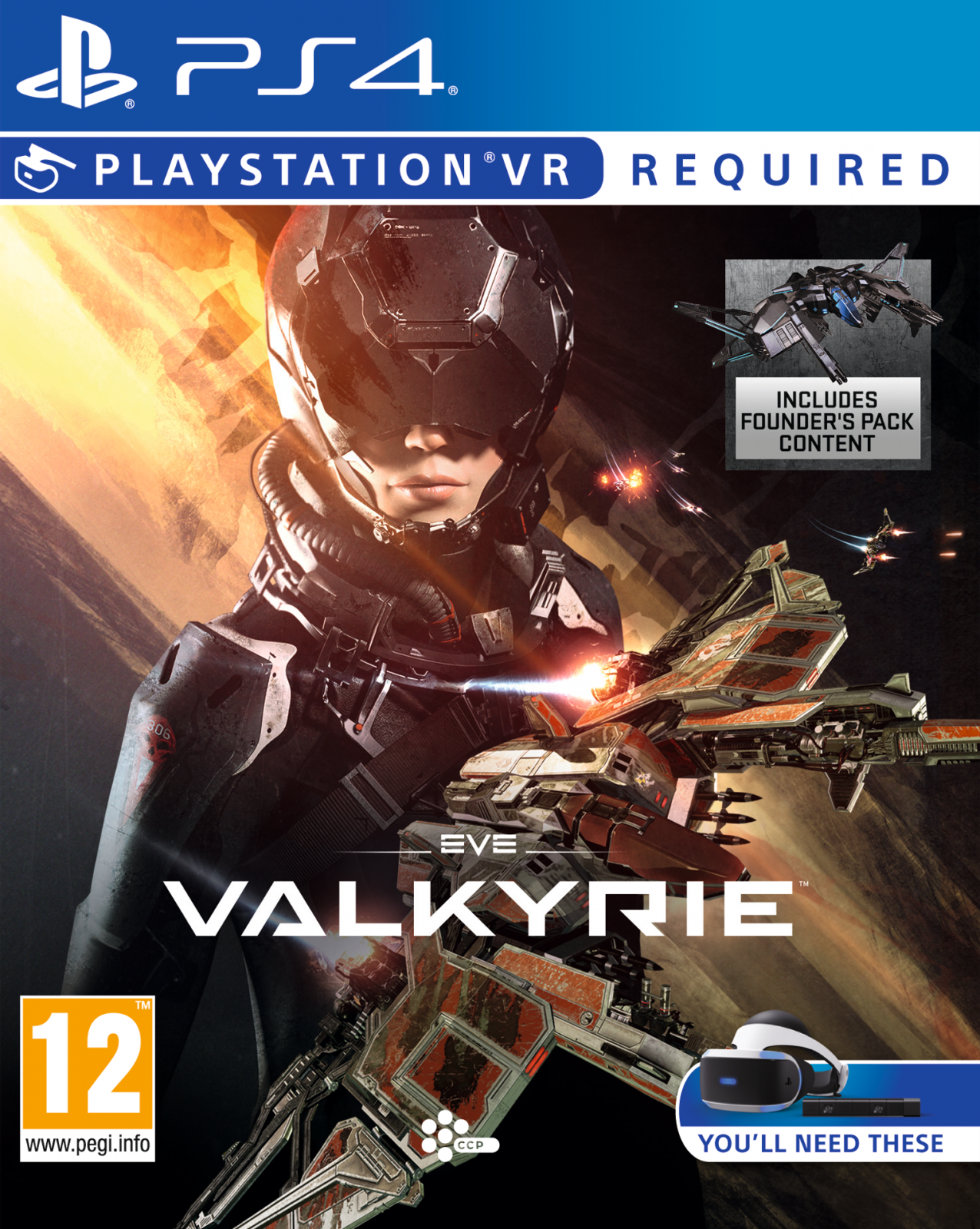 Eve Valkyrie PSVR VR HEADSET |