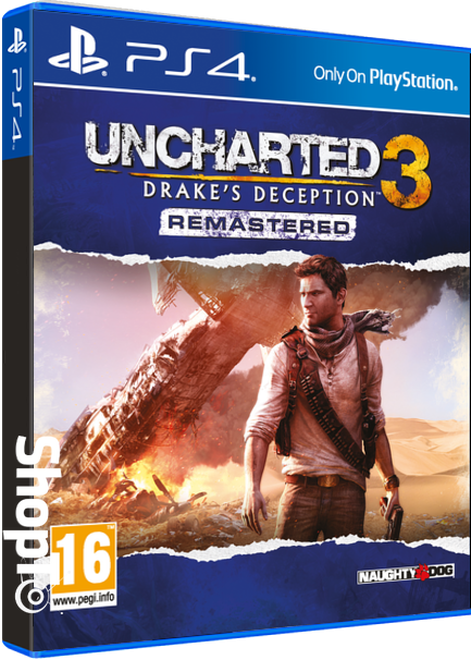 Uncharted 3 Drakes Deception Remastered Ps4 Shopto Net