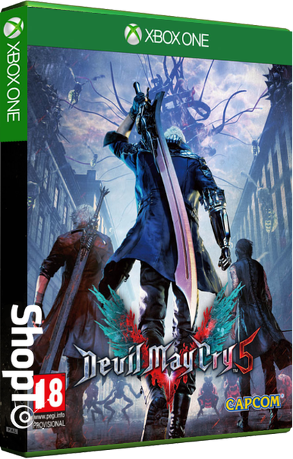 Devil May Cry 5 Lenticular Sleeve Edition | ShopTo net