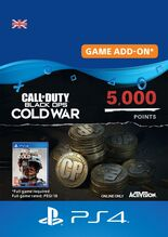 Image of Call of Duty Black Ops Cold War 5000 Points