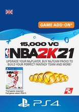 Image of NBA 2K21 15,000 VC