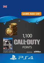 1100 Call of Duty Modern Warfare Points