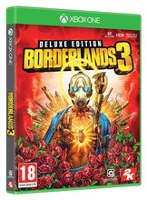 Image of Borderlands 3 Deluxe inc Gold Weapon Skins Pack