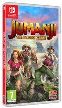 Jumanji The Video Game Packshot