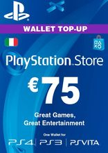 Sony PlayStation Wallet Top Up 75 Euro
