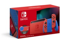 Nintendo Switch Console Mario Red & Blue Edition +
