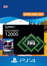 Image of Fifa 21 FUT Ultimate Team 12000 points