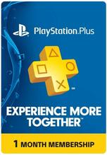 Sony PlayStation Plus Code 1 Mese