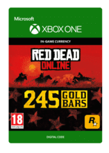 Image of Red Dead Redemption 2: 245 Gold Bars
