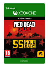 Image of Red Dead Redemption 2: 55 Gold Bars