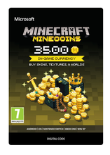 Image of Minecraft Minecoins Pack - 3500 Coins