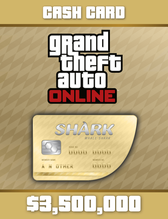 Image of Grand Theft Auto Online: Whale Shark Cash Card