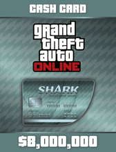 Image of Grand Theft Auto Online: Megalodon Shark Cash Card