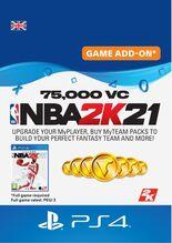Image of NBA 2K21 75,000 VC