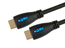 Image of 5M FAST HDMI W/ETH BLUE GOLD CONNS