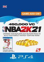 Image of NBA 2K21 450,000 VC