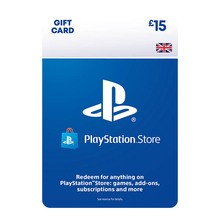 PlayStation Network Wallet Top Up £15