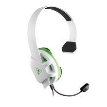 Image of Recon Chat Xbox1 White and Green Headset