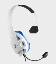 Image of Recon Chat PS4 White and Blue Headset
