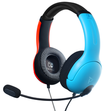 Image of LVL40 Wired Headset NS Joycon Blue/Red