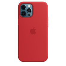 IPHONE 12 PRO MAX SIL CASE RED