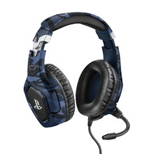 Image of GXT 488 Forze PS4 3.5mm Headset Blue
