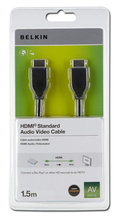 Image of BELKIN HIGH SPEED HDMI CABLE 1.5M