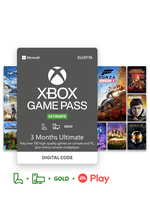 Image of Xbox Game Pass Ultimate 3 Month Subscription