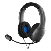 Image of LVL40 Stereo Headset for PS4 Black