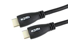 Image of 2M FAST HDMI W/ETH WHITE GOLD CONNS