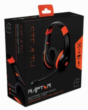 Multiformat Stereo Gaming Headset - Raptor