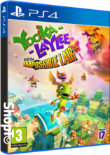 Yooka-Laylee and the Impossible Lair Packshot