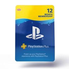 Image of PlayStation Network Plus 12 Month UK Membership