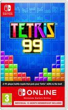 Tetris 99 + 12 month individual membership