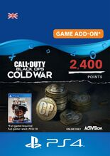Image of Call of Duty Black Ops Cold War 2400 Points