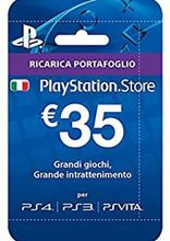 Sony PlayStation Wallet Top Up 35 Euro