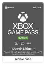 Image of Xbox Game Pass Ultimate 1 Month Subscription