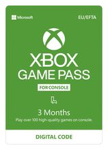 Xbox Game Pass - 3 Months Subscription (EU+EFTA)