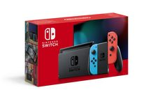 Nintendo Switch Console Neon Red - Neon Blue