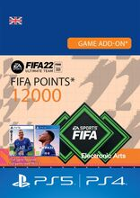 Image of Fifa 22 FUT Ultimate Team 12000 points