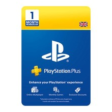 Image of PlayStation Network Plus 1 Month UK Subscription