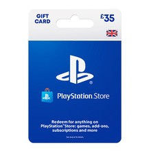 PlayStation Network Wallet Top Up £35